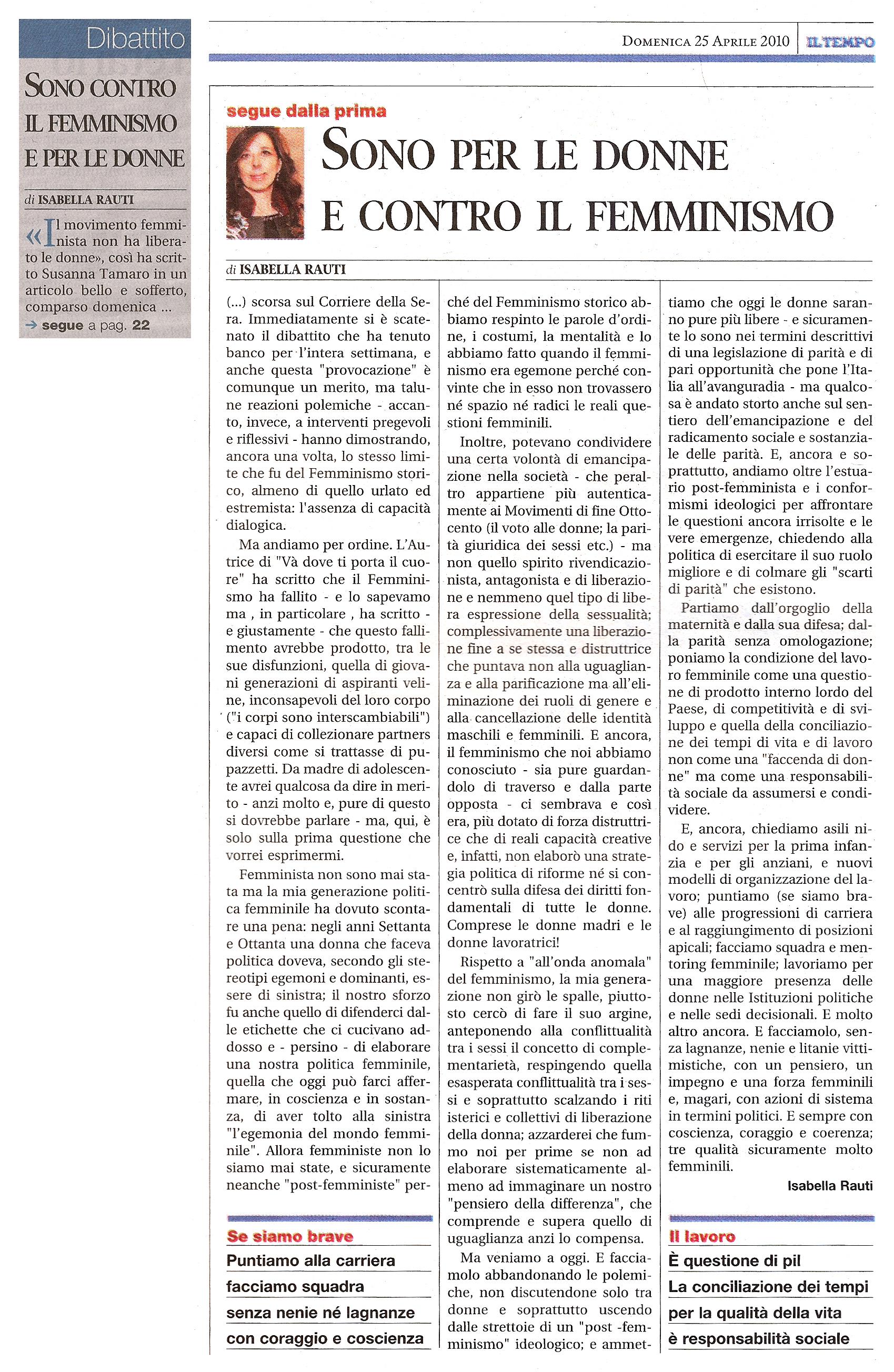 Chi odia il femminismo pu combattere il femminicidio il - Diva e donne giornale ...