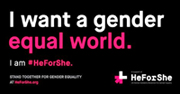Are You #HeForShe?