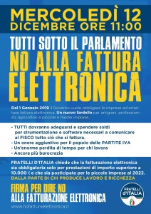 FDI-NoFatturaElettronica
