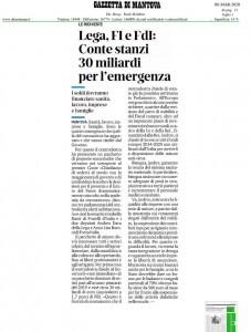 Gazzetta di Mantova 8 marzo 2020